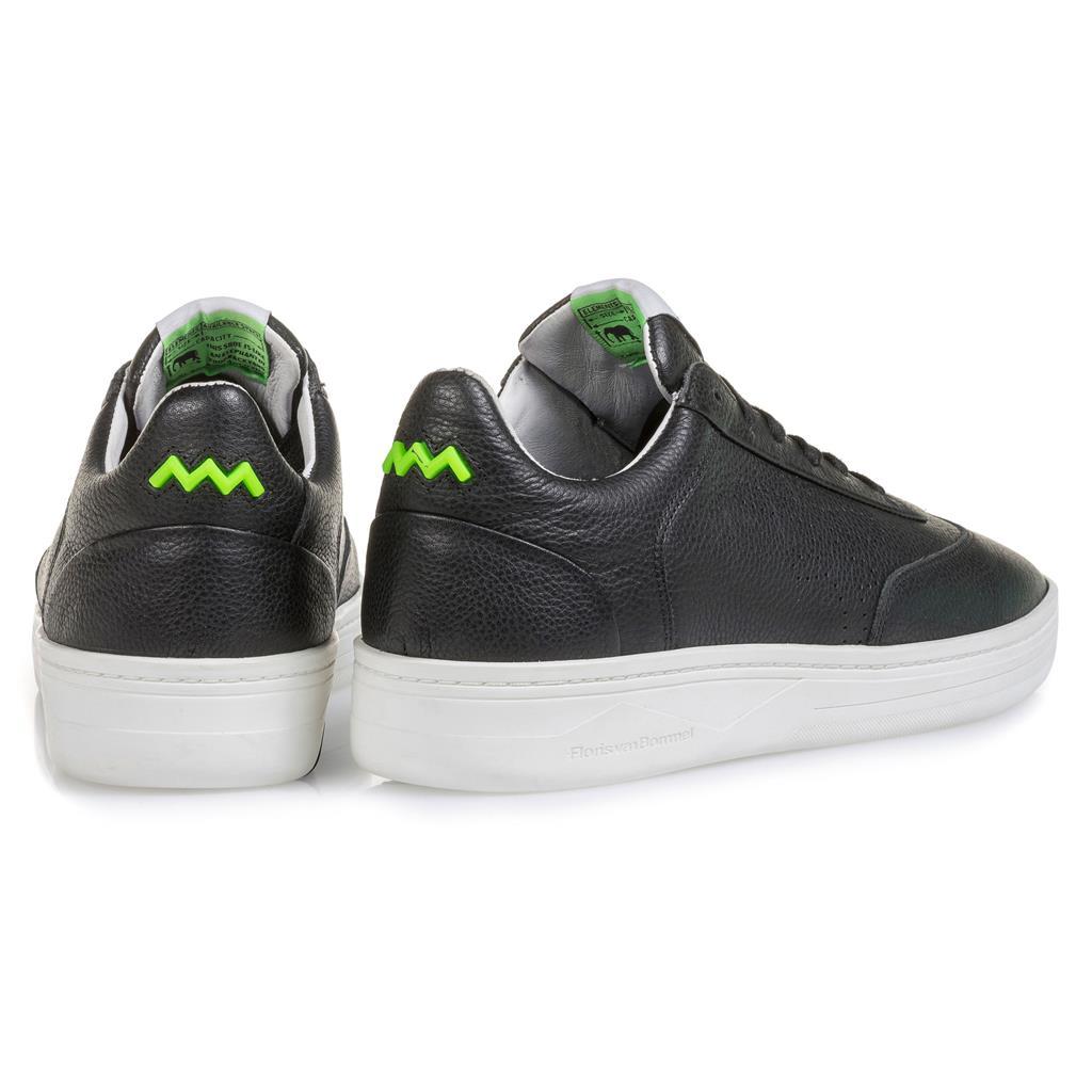 Heren Leer Bommel Sneaker Floris Sport Pxtkziuow 1625504 Van Zwart tsQxhdBrC