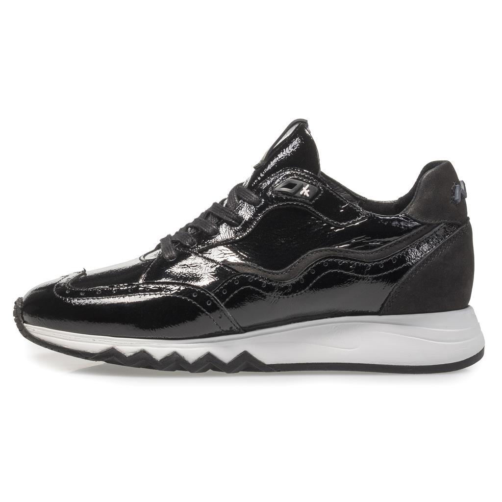 Sport 7695 Dames Sneaker Bommel Floris Van Combinatie 8528704 Zwart Lak hQtCxrsd