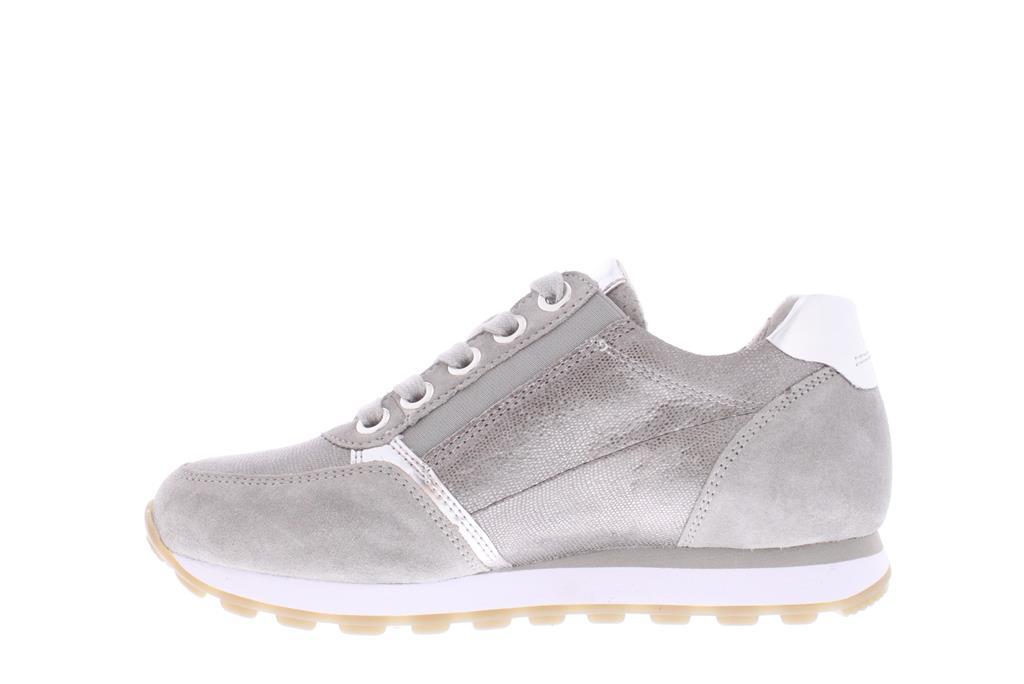 78cc28f5ad1 Zilver Metallic Gabor Sneaker | 86.335.40 - Van Asperen ...